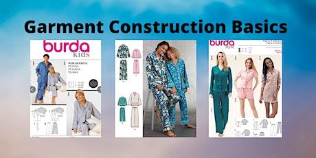 Garment Construction Basics Class tickets