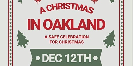 Christmas in Oakland '20 tickets