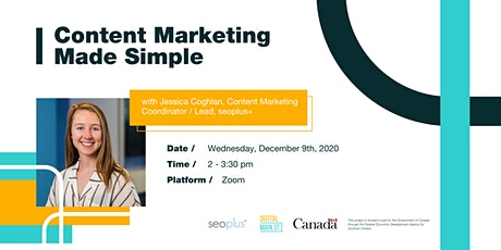 Content Marketing Made Simple tickets