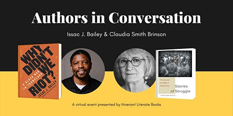 Authors in Conversation: Claudia Smith Brinson and Issac J. Bailey tickets