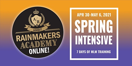 Rainmakers Academy Spring Intensive 2021 boletos