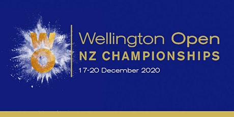 2020 Wellington Open NZ Championships Finals Day tickets