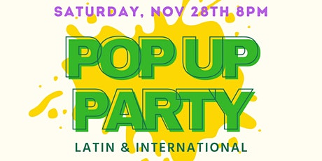 POP UP PARTY - Latin & International tickets