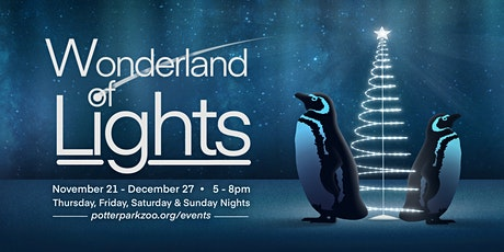 Wonderland of Lights Arrival Time Reservation tickets