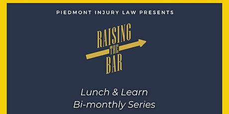 Raising the Bar- Online Lunch & Learn- December tickets