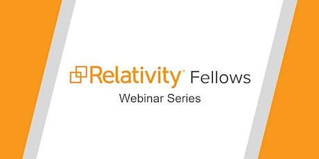 Relativity Fellows Informational Webinar tickets