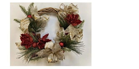 Golden Willow Christmas Wreath- Hilo tickets
