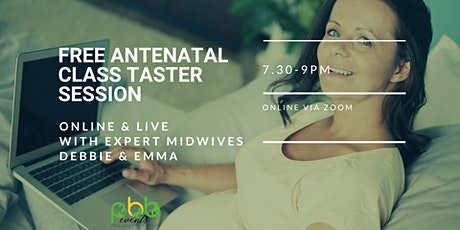 Antenatal Class Taster Session tickets