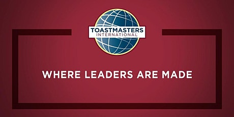 [Online] Toastmasters Public Speaking - Your Vibe attracts your Tribe tickets