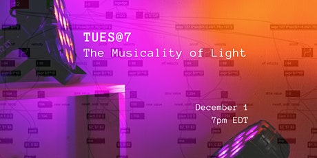 TUES@7: The Musicality of Light tickets