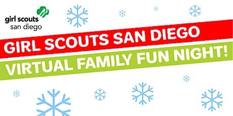 Girl Scouts Virtual Family Fun Night—Winter craft! tickets
