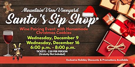 Santa's Sip Shop tickets