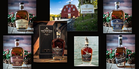 WhistlePig Whiskey Zoom tasting with Steward of the Brand  Blaine Adams tickets