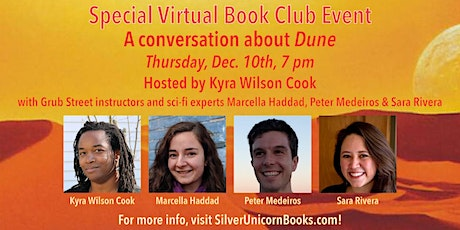 Special Sci-Fi Panel: Discussion of Dune with Three Authors tickets