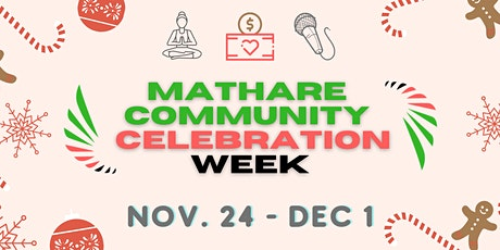 Mathare Community Celebration Week tickets
