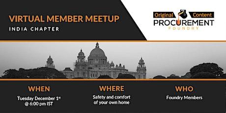 Virtual Member Meetup India tickets