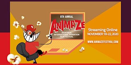 Animaze 2020 - Montreal International Animation Film Festival - Online tickets