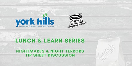 Nightmares and Night Terrors - Triple P Tip Sheet Discussion tickets