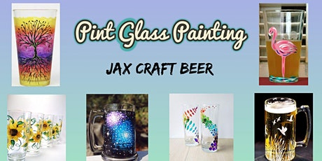 Pint Glass Painting at Jax Craft Beer tickets