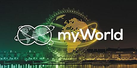 EVENTO ONLINE - MYWORLD Business Info biglietti