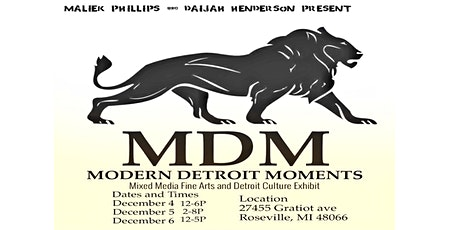 Modern Detroit Moments tickets