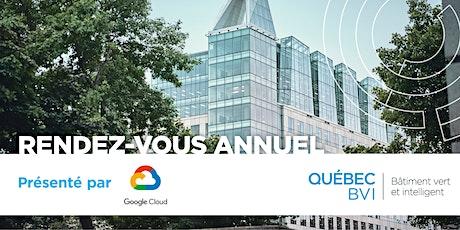 Rendez-vous annuel Québec BVI présenté par Google tickets