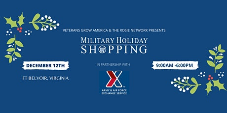 Military Holiday Shopping tickets