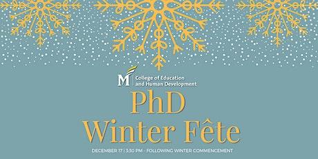 2020 PhD Winter Fête tickets