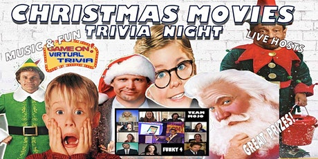 Christmas Movie Trivia Night  Great Fun   .. Great Prizes l tickets