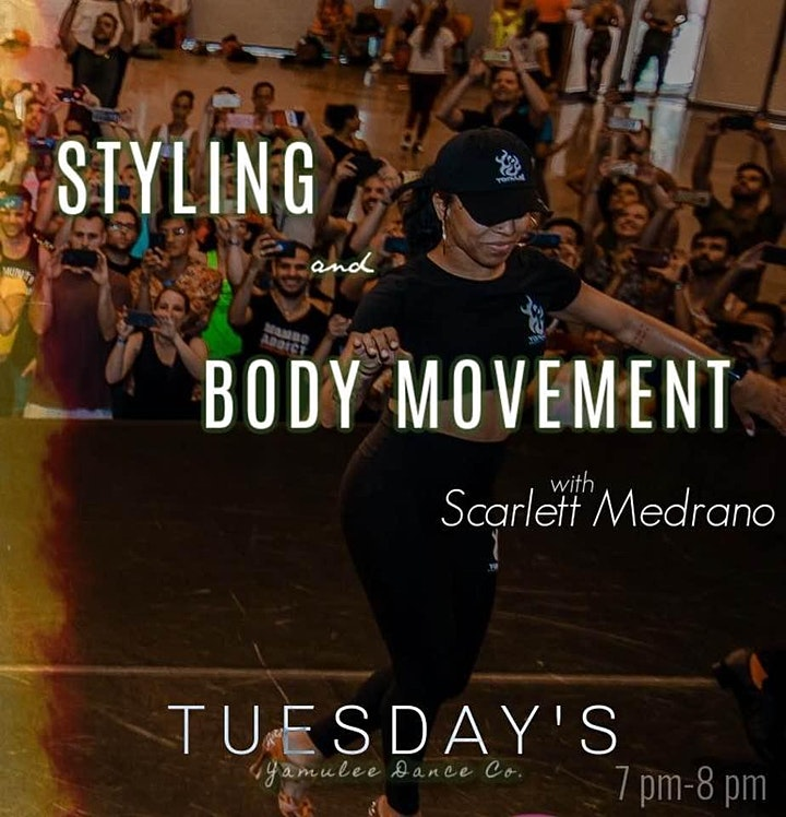 Tuesday Ladies Styling & Body Movement 7-8pm (Co-Ed Class) image