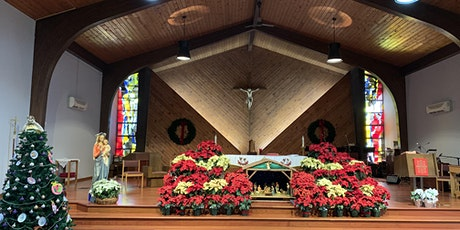 Christmas Eve and Christmas Day Masses tickets