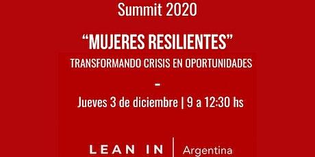 "3er Summit Anual de la Red Lean In Argentina: ""Mujeres Resilientes"" entradas"