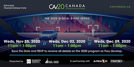 CAV Canada 2020 - Digital Event Series tickets