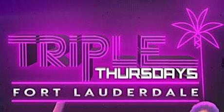 Triple Thursdays FL tickets