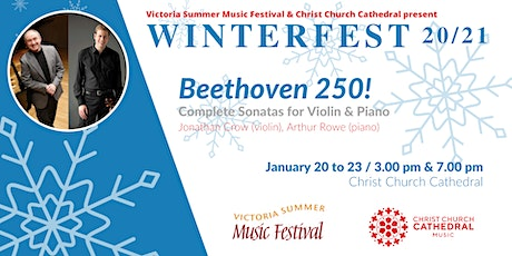 "VSMF WinterFest 20/21: ""Beethoven 250!"" Concert 4 (3PM Showing) tickets"