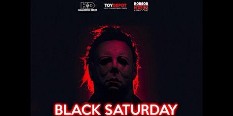 Black Saturday Inside Halloween Depot tickets