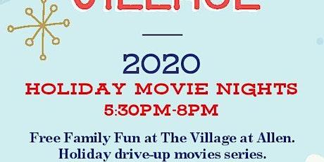 Wonder at the Village - Holiday Movie Nights Series at The Village at Allen tickets