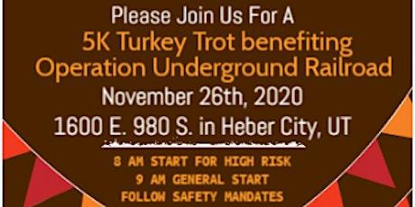 5K Turkey Trot Benefiting Operation Underground Railroad tickets