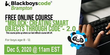 Black Boys Code Brampton -mBlock: Creating Smart Objects through Code-2.0 tickets
