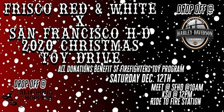 Red & White x San Francisco H-D Toy Drive tickets