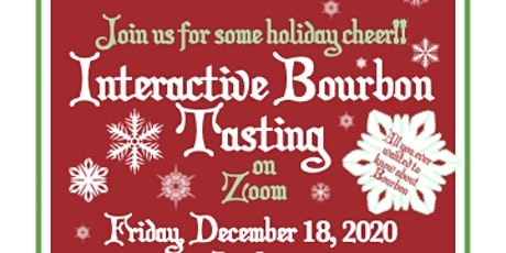 Interactive Bourbon Tasting on Zoom to Benefit Camp Bronx Fund tickets