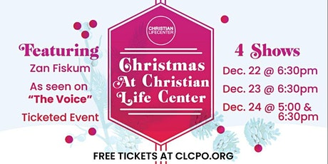 Christmas @ CLC - Event 2 tickets