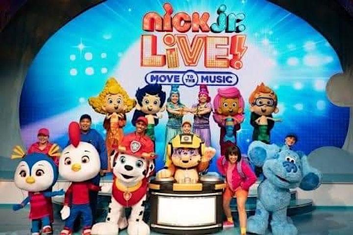 Nick Jr En Vivo! Move To The Music image