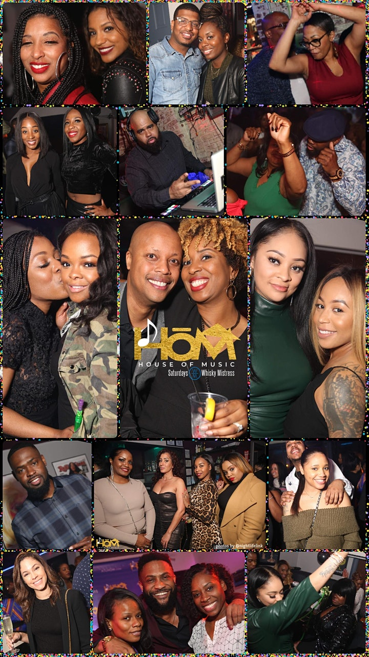 The All★Star  HOUSE OF MUSIC Dayparty & Nightcap at Whisky Mistress! image