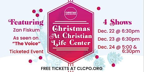 Christmas @ CLC – Event 3 tickets