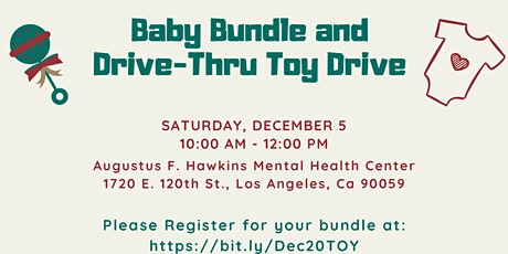 SLASB AAIMM CAT x Casa Bella:Holiday Baby Bundle & Drive-Thru Toy Drive tickets