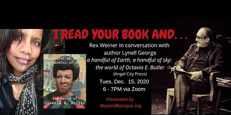IRYBA Presents:  Lynell George in Conversation with Rex Weiner tickets