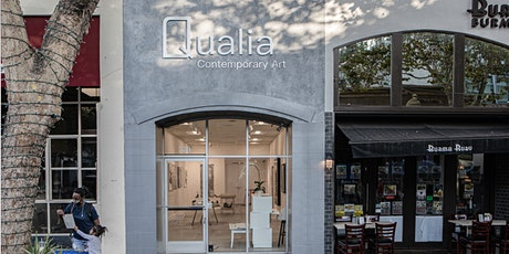Qualia Contemporary Art Exhibition Opening Night tickets