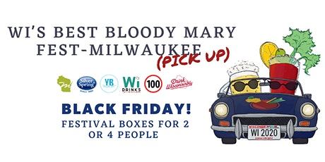 WI's Best Bloody Mary Fest - Milwaukee (Pick Up Style) tickets