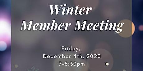 Winter Members Meeting tickets